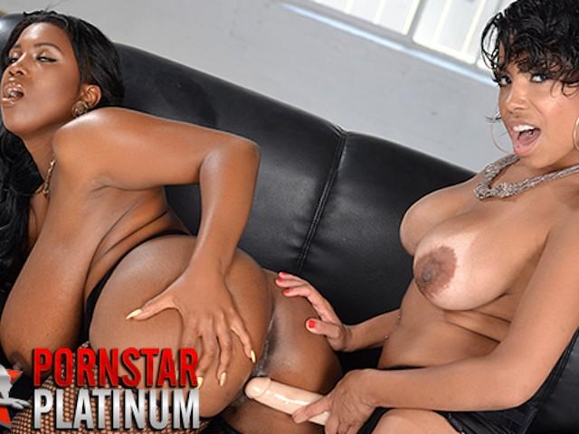 Lesbian Milf Deauxma Strapon