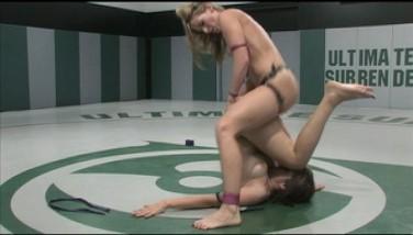 Naked Wrestling And Belt Dick Fucking