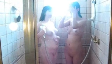 Sexy Bathroom For 2 Super-naughty Gfs