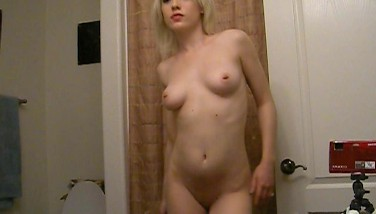 Hottest Selfshot Amateur Towheaded Demonstrates T And A