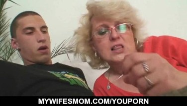 Guy Boinks His Wife's Mother Till Wifey Comes In