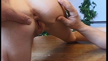 Hot Platinum-blonde Doll Takes It Up The Arse