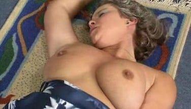 Mature Demonstrates Her Baps And Furry Pussy..