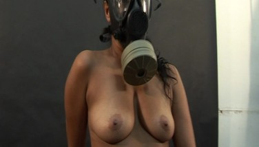 pussy shave in restraint chair lesbian gas mask bdsm