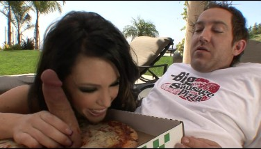 Big Boob Wild Ps Jenna Presley Plumbs Pizza Delivery Stud Outdoors