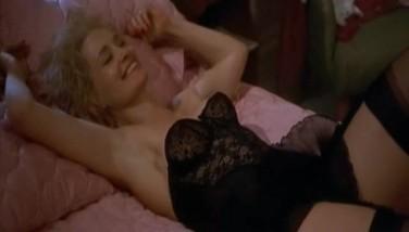 Lesbisk sex i en sovende