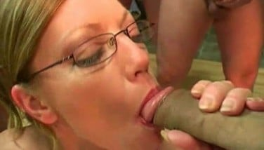 British Redhead Adult Movie Star Holly Smooch Gets Jizzed In A Mass Ejaculation Party