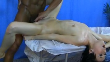 Anal Romp Rubdown With Sexy Girl