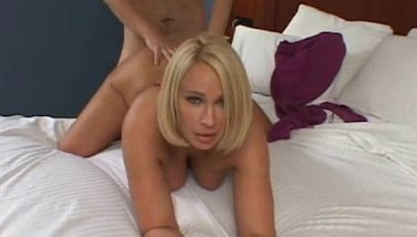 Blonde Super Fucking Hot Wifey Ravaged In Bed