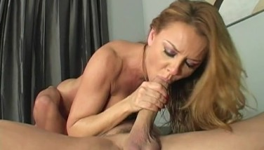 Janet Mason Enjoys Fellating Spear And Eating Ass