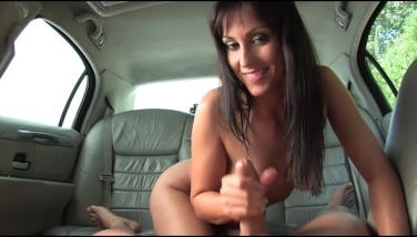 Simona Styles Gets Drilled Point Of View In A Limo