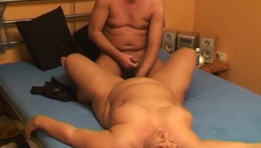 Chubby Unexperienced Wifey Inhales And Humps With Jism In Mouth