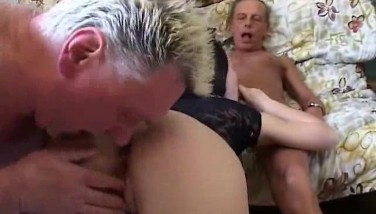 Horny Grandpas Screw Junior Slut