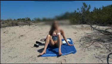 Blonde Legitimate Years Old Woman Nude At Beach