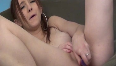 Teen Sobs From Ejaculating So Stiff From A Dildo