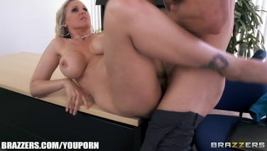 Julia Ann Gets A Fresh Job And Bangs The Chief On The Very First Day