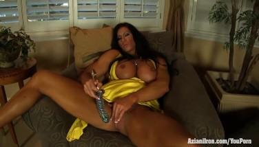 Aziani Metal Angela Salvagno Damsel Bodybuilder Get Naked