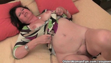 Mature Mother With Yam-sized Knockers And Furry Fuckbox Needs To Get Off