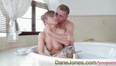 Danejones Youthful Half French Puny Lady With Cock-squeezing Pert Culo Making Enjoy In Jacuzzi Romantic Sex