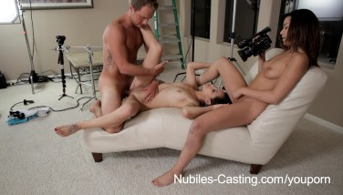 Nubiles Audition  Little Latina Hotty Does Her Very First Gonzo Audition