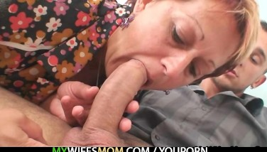 She Catches Him Ravaging Mom In Law