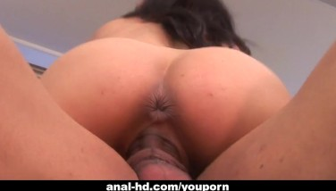 Busty Stunner Nadia Styles Gets Her Caboose Boinked By Ebony Guy
