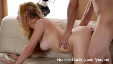 Nubiles Audition  Can She Take It Deep Enough To Get The Job