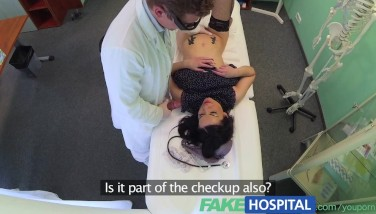 Fakehospital No Health Insurance Causes Bashful Patient To Pay For Approach With Jacking Fellatios And Fucking