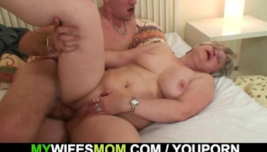 His Wifey Finds Him Plowing Motherinlaw
