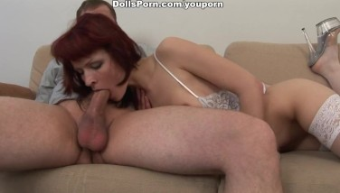 Hot Redhead In High Heel Fuck-a-thon Video