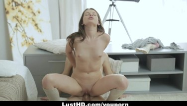 Lusthd  Crazy Russian Teenage Gets An Assfuck Creampie