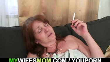 Horny Son In Law Plows Her After Shower