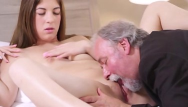Sexy Czech Schoolgirl Nailed By Her Tricky Old Teacher On The Desk