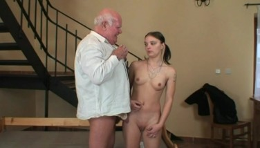 Her Very First Lovemaking With A Grandpa