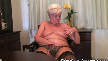 Grandma Needs An Ejaculation Right Now