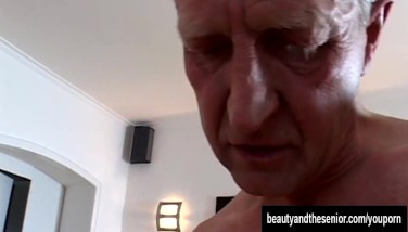 Tanned Teenage Gets Pulverized By An Old Dude