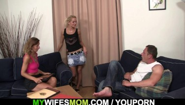 She Rails Her Son In Law Cock