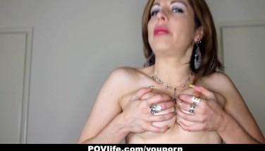 Povlife  Huge-chested Mummy Kora Peters Lovemaking Video