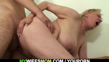 Cheating Fuck-fest With Huge-boobed Motherinlaw