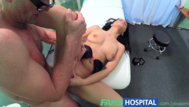 Fakehospital Stellar Patient Is Given The Hard-on Cure In A Bid To Hoist Her Spirits