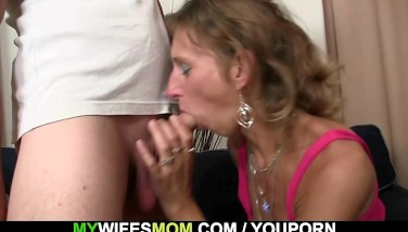 Granny Penetrates Her Daughter's Hubby