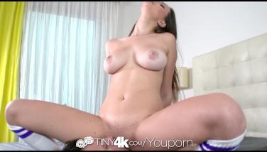4k Tiny4k  Tall Teenage Ashley Adams With Congenital Tits Gets Fucked