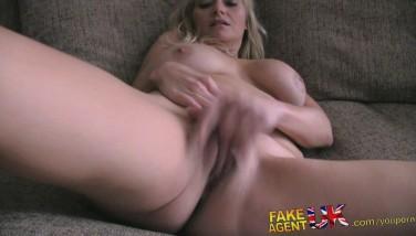 Fakeagentuk Stateside Blond Mummy Looking For Hard-core Porno In Uk