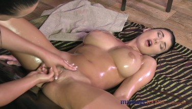 Massage Apartments Teenage With Impressive Giant Congenital Melons Blows A Load Hard