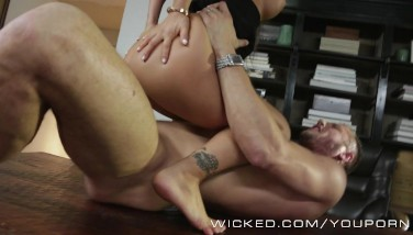 Wicked  Asa Akira Gets Screwed In The Office