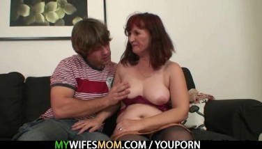Redhead Mother Is Humped By Her Son In Law