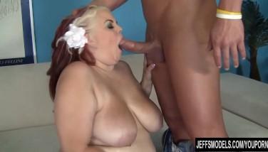 Pretty Plus-size Big-boobed Bella Takes A Enormous Cock