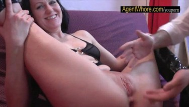 Licking And Fingerblasting Lesson For Super-cute Boy