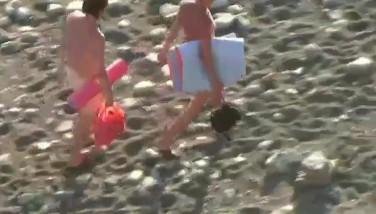 Voyeur Caught A Hefty Boy Penetrating A Sumptuous Girl