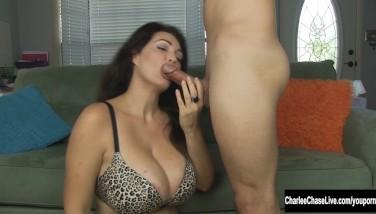 Watch Cockblower Charlee Haunt In Action